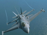 F16 Fighting Falcon, реактивный истребитель