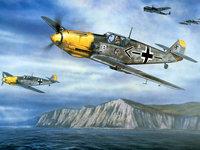 Эскадрилья люфтваффе над морем