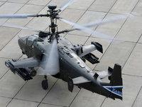 Военный вертолет Ка-52 Аллигатор
