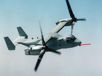 Ударный конвертоплан V-22 Osprey ВВС США