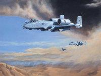 Тяжелые бомбардировщики над пустыней