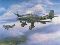 Самолёты Германии, рисованная авиация