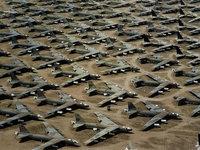Кладбище в США стратегических бомбардировщиков Б-52