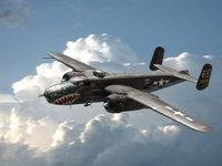 Разукрашенный самолёт со времен войны