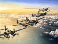 Штурмовики Второй мировой войны над морем