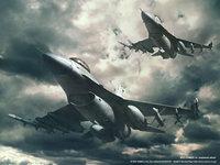 Самолёты истребители летят к цели