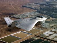 Boeing X-32 - американский самолёт в полёте