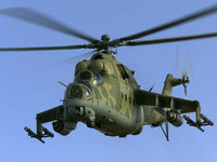 Ми-25 советский/российский ударный вертолет