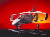 Футуристическая модель самолёта