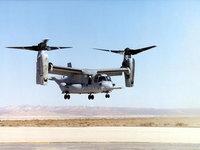 Конвертоплан V-22 Osprey в воздухе