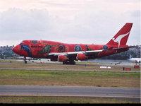 Пассажирский лайнер австралийской авиакомпании