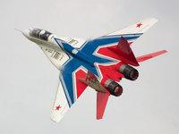 Русский истребитель стрижей МиГ-29