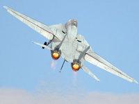 Ф-14 истребитель с изменяемой геометрией крыла
