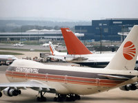 Пассажирские лайнеры в аэропорту