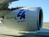 Турбины пассажирского лайнера Airbus A380