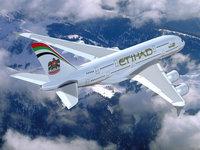 Самолёт авиакомпании Etihad Airways