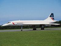 Concorde сверхзвуковой пассажирский самолёт
