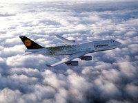 Боинг 747 Lufthansa