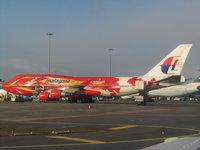 Малазийский пассажирский самолёт Airbus