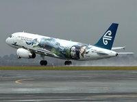 Самолёт Air New Zealand в аэропорту