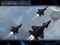 Три истребителя в воздухе