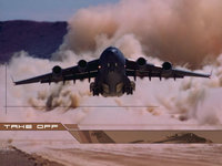 C-17A Globemaster III военно-транспортный самолёт
