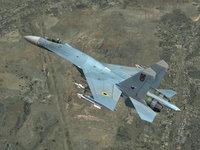 Су-27 советский/российский всепогодный истребитель
