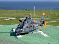 Вертолет Миг на взлетной площадке