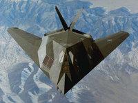 F-117 Nighthawk, Стелс над горной местностью