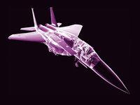 3D модель истребителя