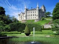 Замок Данробин, Шотландия