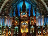 Базилика Нотр Дам – жемчужина Монреаля