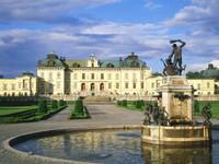 Замок Дроттнингхольм, Стокгольм, Швейцария