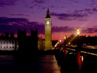 Биг-Бен и парламент Лондона, Англия