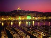 Вид ночного города