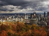 Город осенью