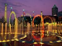 Вековой Олимпийский парк в Атланте