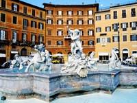 Фонтан Нептун в Риме