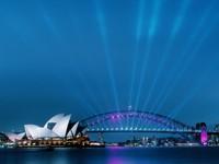 Сиднейский оперный театр, ночью, Австрия