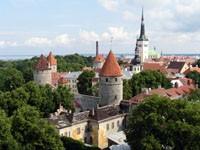 Средневековая крепость Таллинна, Эстония