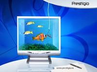 Рыбки на мониторе