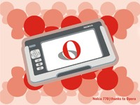 Opera в телефоне