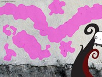 Розовые пятна