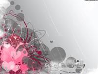 Дождь и розовое сердце