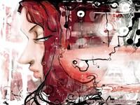 Абстрактная девушка