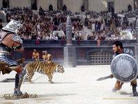 Гладиатор - битва на арене с тигром