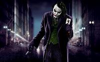 Джокер с картой, заклятый враг Бэтмена
