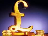 Фунт из золота с монетами
