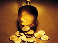 Разные монетки из золота