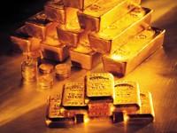Пирамида из золотых слитков
